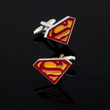 XK202 High quality men's shirts Cufflinks American Super Hero movie characters Cufflinks brand of men's clothing accessories
