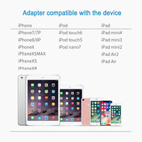 5 3 2 In 1 For Lightning To Audio Charging Adapter,For Lightning To 3.5 mm Headphone Aux Jack Adapter For iPhone X/XS/8/6/6S/7P/8P/7 (5)