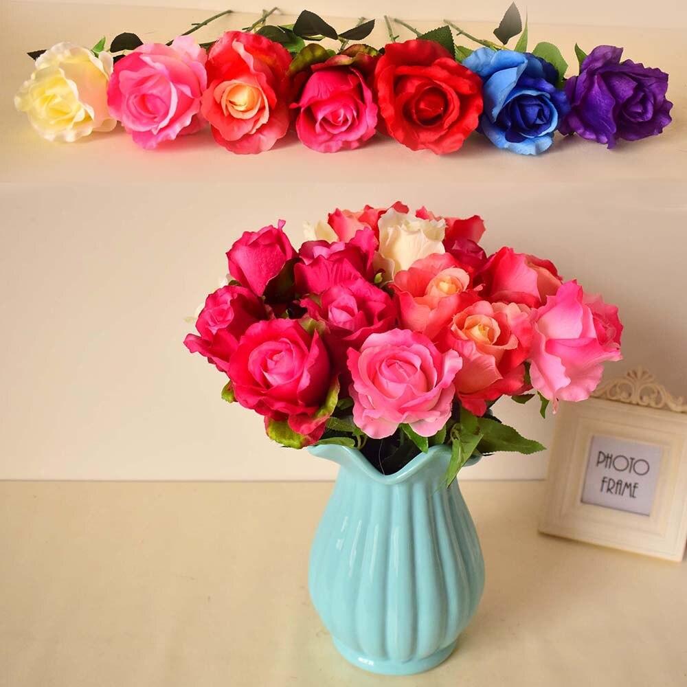 Online Get Cheap Blue Silk Flowers