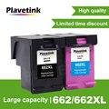 Plavetink для HP 662 662XL совместимый чернильный картридж с чернилами HP Deskjet преимущество 1015 1515 2515 2545 2645 3515 3545 4515 4645 принтер