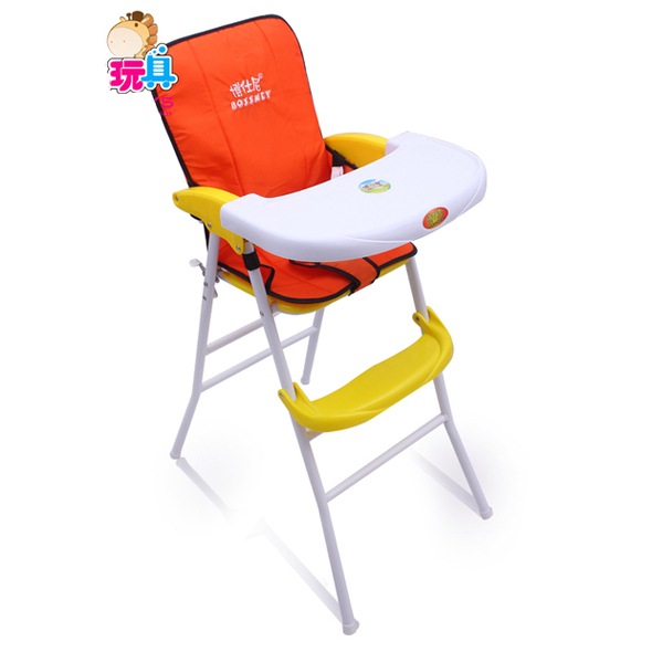 Portable Folding High Chair Dining Room Covers Dunelm Free Shipping Baby Trend Sit Right Easy Fold Feeding 2 In 1 With Safety Design