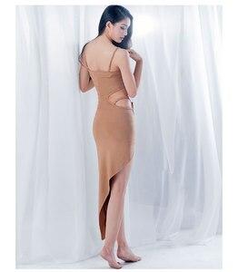 Image 5 - Commercio allingrosso di Danza Del Ventre Gonne Delle Donne di Estate di Un Pezzo di Danza Orientale Costume Manica Corta Sexy Split Abbigliamento