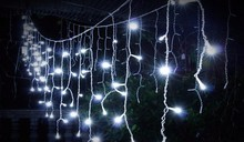 4m *96 Led Christmas lights outdoor garland led icicle curtain String light Fairy holiday home wedding decoration EU220V/US110V