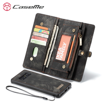 For Samsung Galaxy Note 8 Wallet Case Leather Card Holder Slot Magnetic Cover Casae For Samsung