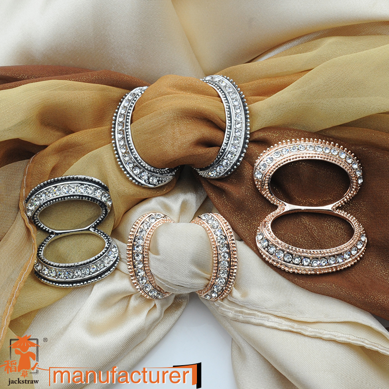 2015 New product!Scarf Clip Straight  Brooches For Women,high quality crystal decoration,exclusive design,shawls accessories