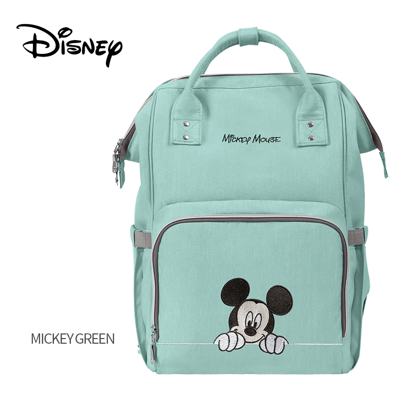 Disney Large Capacity Bolsa Maternidade Baby Nappy Bag Stroller Diaper Bag Baby Care Diaper Bags Backpack Travel Backpack