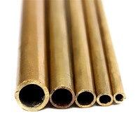 Tubos de latão diâmetro 2mm/3mm/4mm/5mm/6mm  comprimento ferramenta de corte de tubo de bronze de parede  300mm  longo  0.45mm  alta qualidade