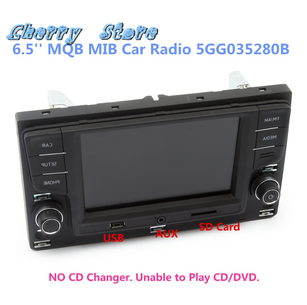 NEW 5GG 035 280 B 6.5'' MQB MIB2-G Car Radio Player USB AUX Bluetooth OPS Touchscreen For VW Golf 7 MK7 Passat B8 5GG035280B 3 4 6 8 head american pastoral sitting room dining room study bedroom chandeliers cloth art act the role ofing