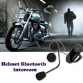 2 PCS freedconn t-comvb Bluetooth Intercom Motorcycle Helmet intercom Headset bluetooth headset capacete para motocicletas