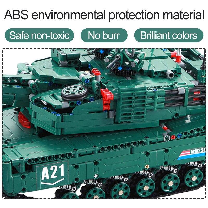 cada 1498cps rc militar m1a2 tanque modelo 01