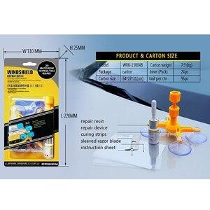Image 5 - Szyba samochodowa szybka naprawa narzędzie do naprawy przedniej szyby DIY Dent usuń zestaw samochodowy