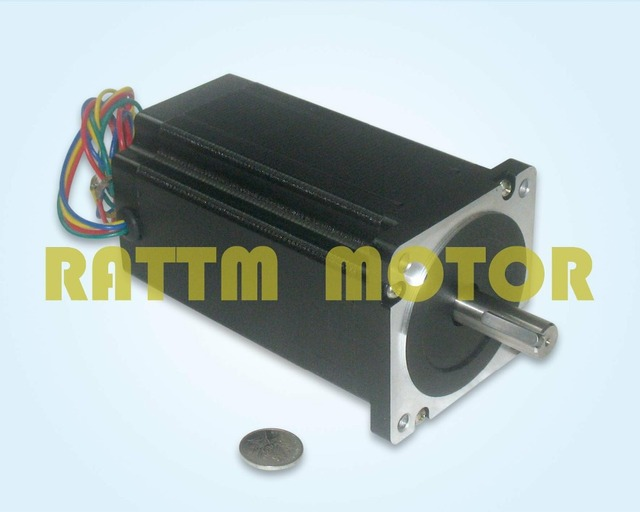 From EU/free VAT 3 Axis NEMA34 Stepper motor 1600oz-in CNC Controller Kit for Large size CNC Router Engraving Milling Machine
