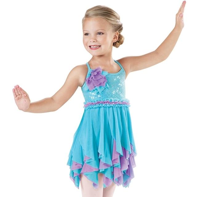 773b7dcf3 Children Ballet Costume Cute Female Harness Dress Costumes Dance ...