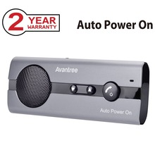 Avantree Transmitter Bluetooth handsfree car kit  10BS Auto Power On, With Multi-point, A2DP, Echo & Noise cancellation