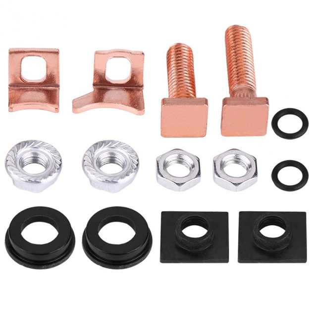 Starter Solenoid Rebuild Repair Kit for Denso 2 5KW Diesel Case for Toyota  Auto Tools