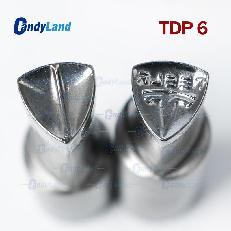 CandyLand TDP6 TS Milk Tablet Die Punch Press Mold Sugar Tablet Stamper Customized Design MouldTablet Punch