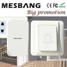 New hot wireless doorbell Door bell right mhz433 no need batter cable easy to install Free