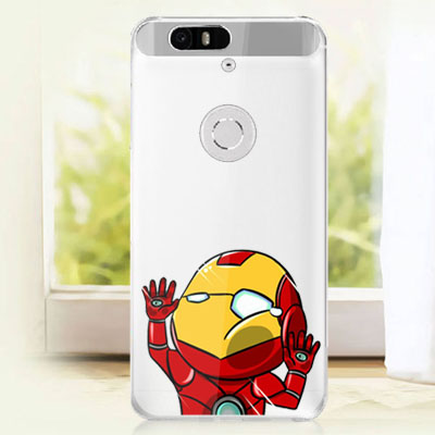 best loved eb2e0 bc474 Transparent Clear Cartoon Case for Huawei Nexus 6P (5.7 inches) Captain  America Batman Superman Hard Back Cover Cases on Aliexpress.com | Alibaba  ...