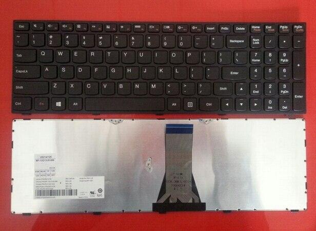 New US Laptop Keyboard for LenovoG50-30 G50-45 G50-70 G50-80 G70-70 G70-80 Z50-70 Z50-75 Z70-80 English Keyboard