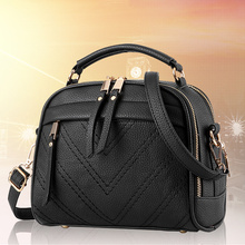 Fashion PU Women Shoulder Bag Crossbody Messenger Small Lady Handbag Zipper цена 2017