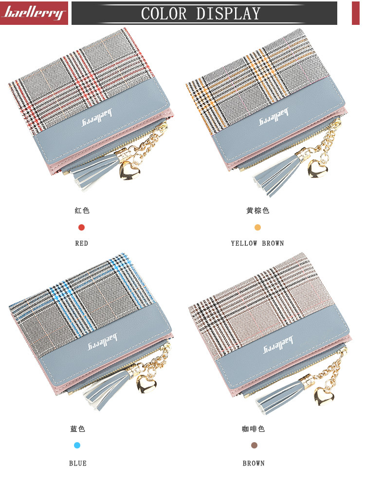 Новые женские кошельки с кисточками милый модный кошелек кожаный короткий кошелек на молнии Держатель для карт мягкие кожаные для телефона женский клатч