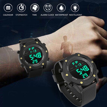 Relogio Masculino Watches Men LED Watch Electronic Digital  Retro Style Military Clock Electronics Mens WirstWatch