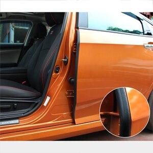 1 шт. автоматические уплотнения, резиновые звукоизоляционные пыленепроницаемые автомобильные двери, погодные полосы для 10-го HONDA Civic, аксесс...