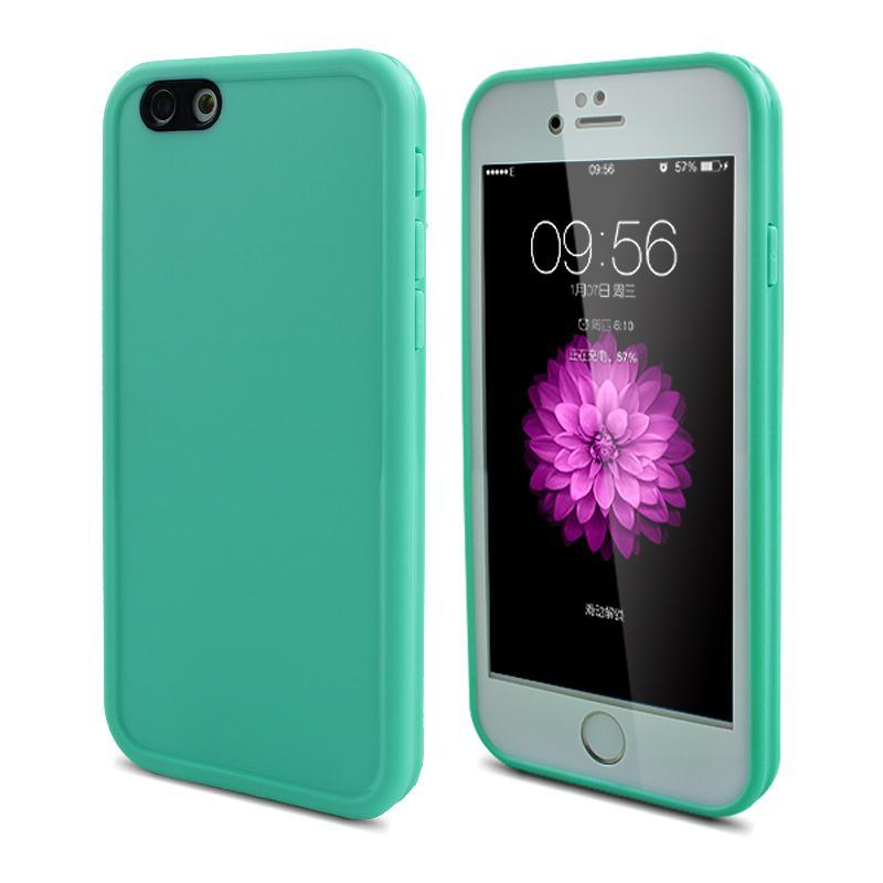Fasion Candy Color vattentätt fodral för iPhone SE 5 5S 6 6S 7 Plus - Reservdelar och tillbehör för mobiltelefoner - Foto 5