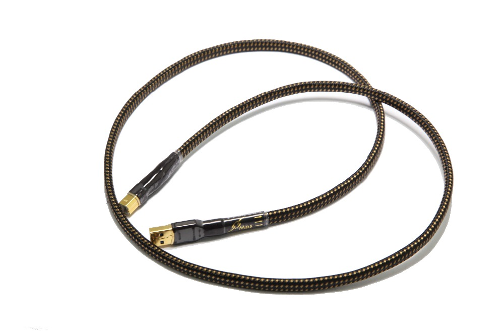 Image 4 - HiFi MPS HD 990 HiFi 99.9999% OCC+Silver Plated 24K10u Gold Plated Plug USB2.0 3.0 connector audio cable DAC PC Audio data cable-in USB Cables from Consumer Electronics