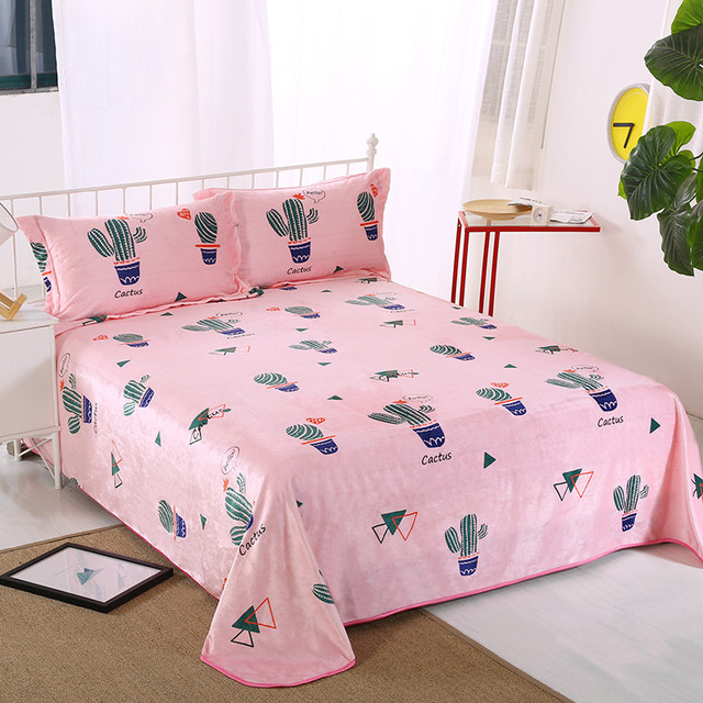 2017 Hot Cactus Pattern Breathable Soft Bed Sheets Bed Linen Choose From A  Variety Of Styles