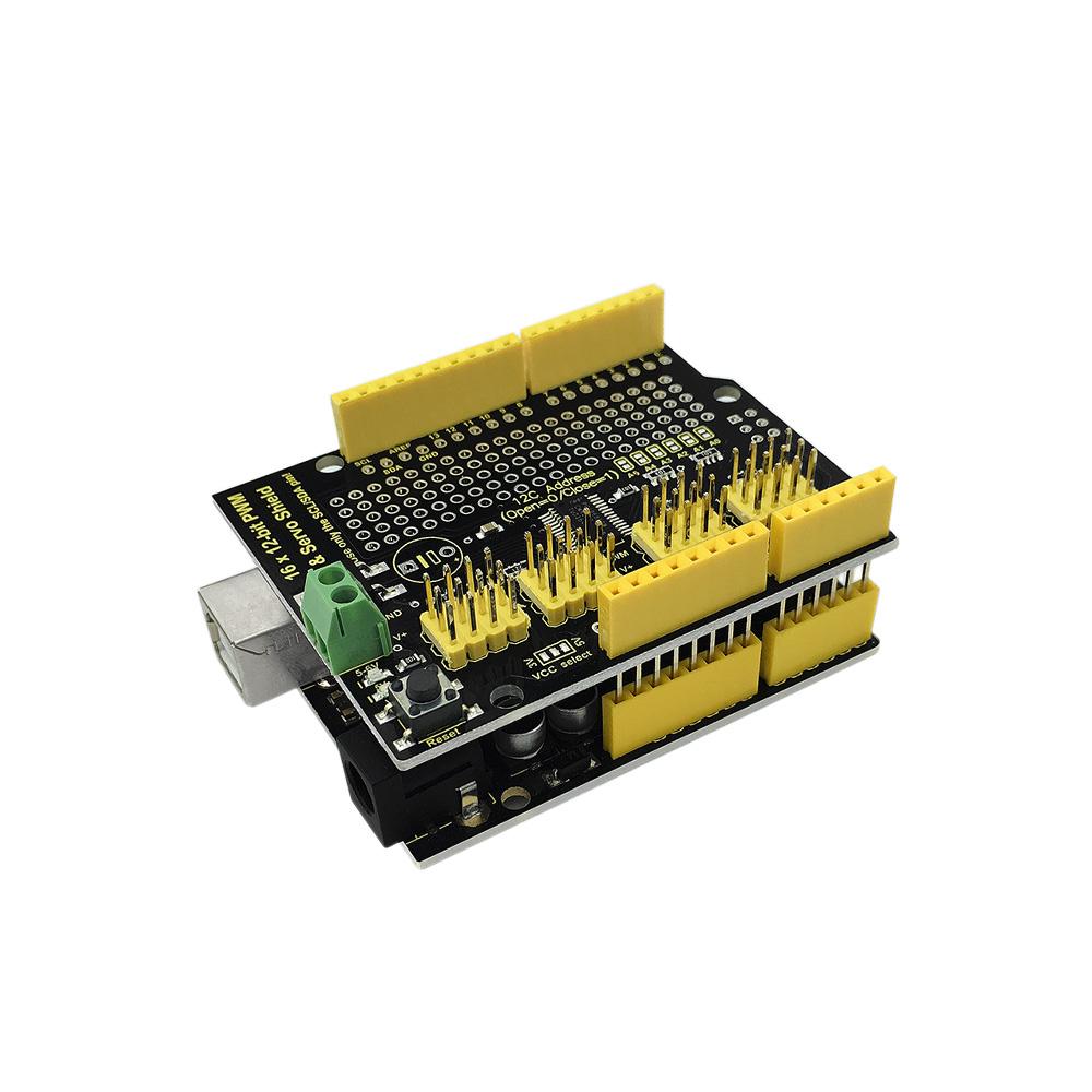 Keyestudio 16-channel Servo Motor Drive Shield For Arduino