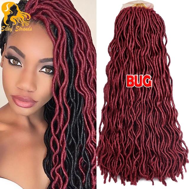 24 Faux Locs Crochet Hair 2x Janet Collection Havana Mambo Faux