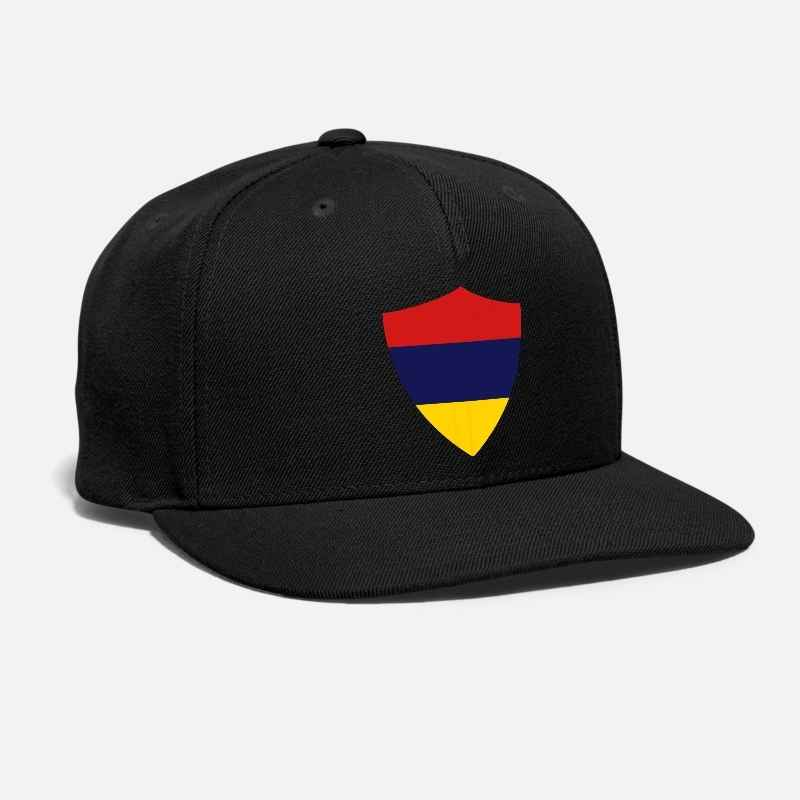 Russia Black Baseball Cap Adjustable Cotton Made in Russia National Team Hat