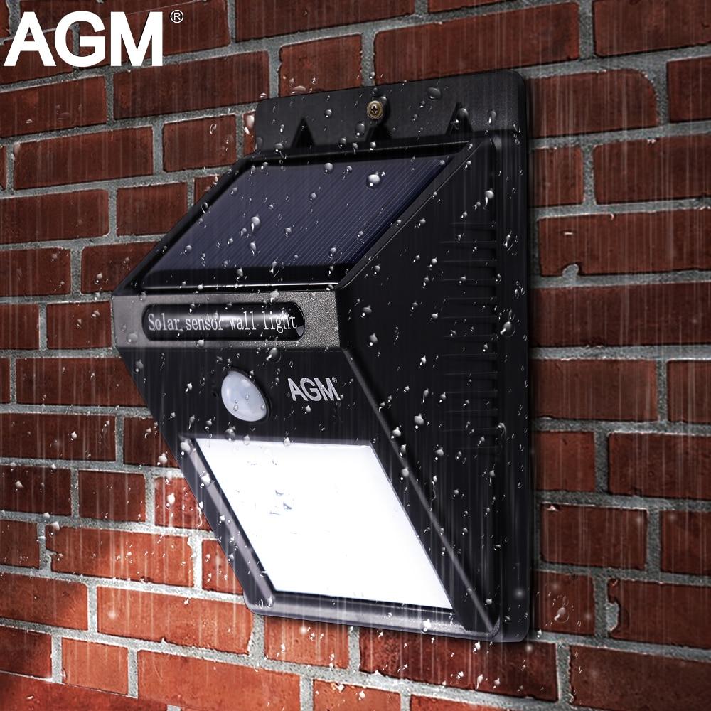 Agm Led Solar Light Solar Panel Energy Power Luminaria
