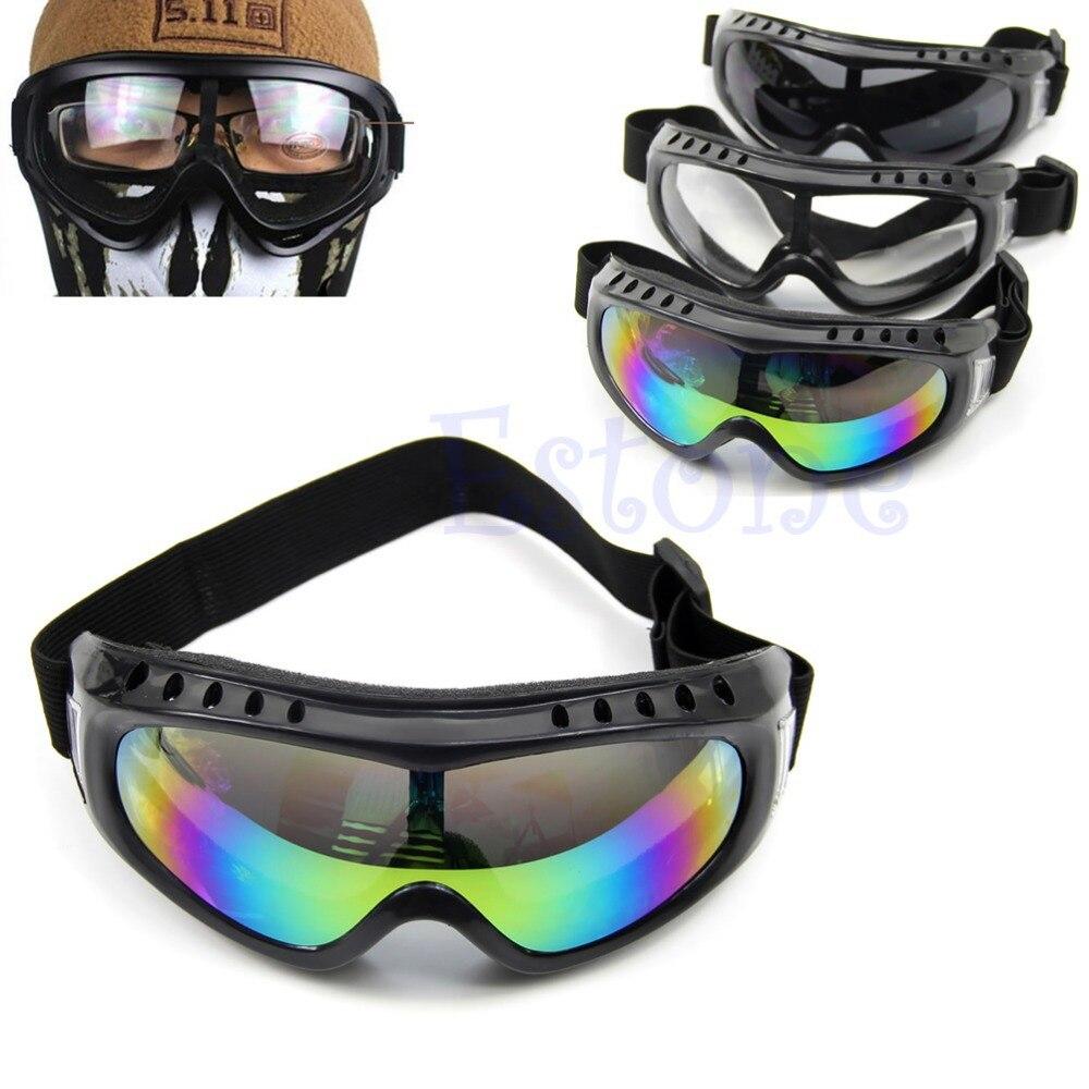 Бесплатная доставка покрытием Детская безопасность Лыжный Спорт очки Открытый Спорт пыле солнцезащитных глаз Очки Новый