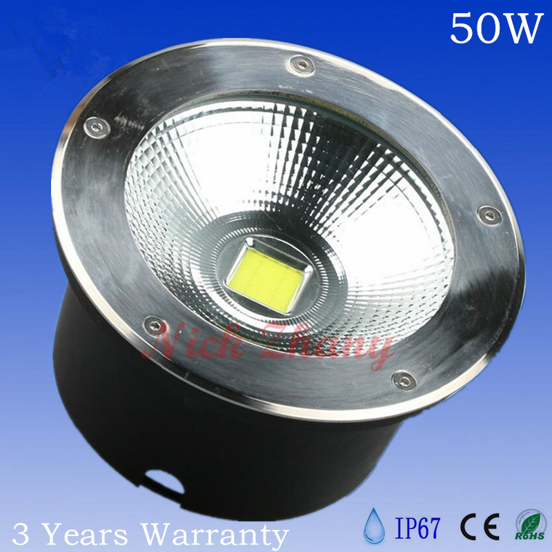 Modest 50w Led Outdoor Lighting Cob Led Underground Light Led Spot Floor Garden Yard Led Underwaterproof Ip67 Diameter 250mm Ac85-265v Be Shrewd In Money Matters Led Underground Lamps Lights & Lighting