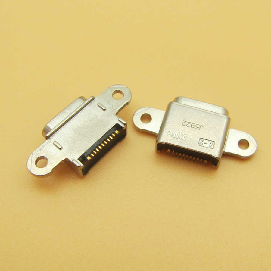 1 stks Micro USB jack socket connector voor Samsung Galaxy S7 G9300 G930F voor S7 rand G9350 G935F telefoon opladen poort