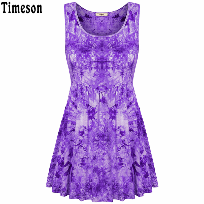 New Summer Style Women Tank Tops Black Round Neck Sleeveless Fashion Floral Print Women's Floral Pleated Sleeveless Tunic Top
