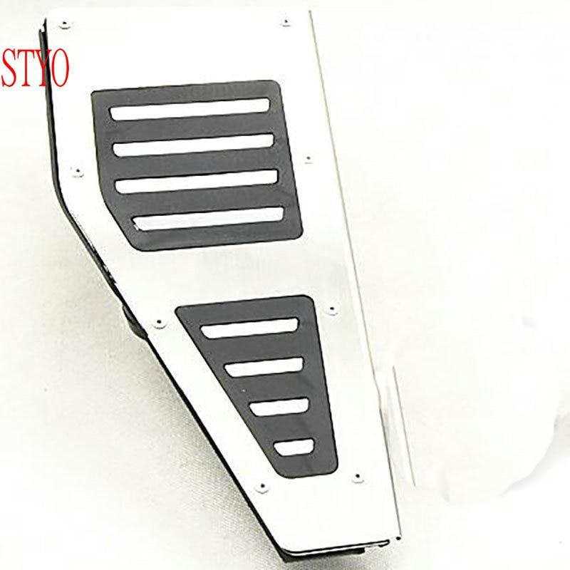 STYO footrest pedals Car pedal Cover FOR RHD VW Golf 7 MK7 Seat mk3 2014 2018