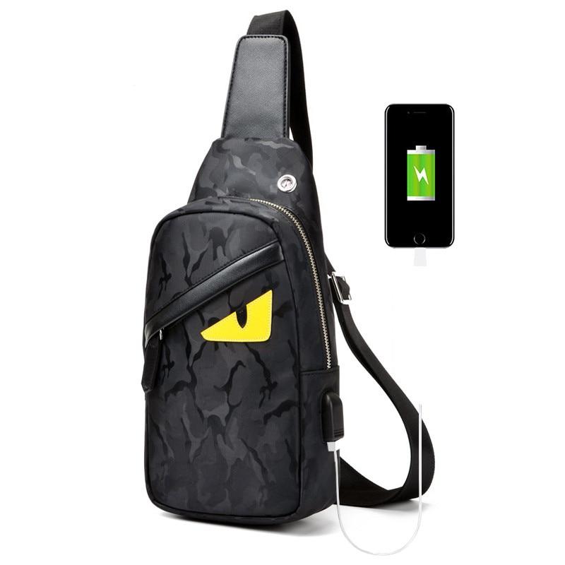 2018 New Fashion Man Shoulder Bag Men Canvas Messenger Bags Casual Travel Military sac a main F1