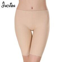 4901d720f3 Women Seamless Safety Pants Ice Silk Five Minutes Boy Shorts Boxer Femme  Modal Briefs Panties Ice