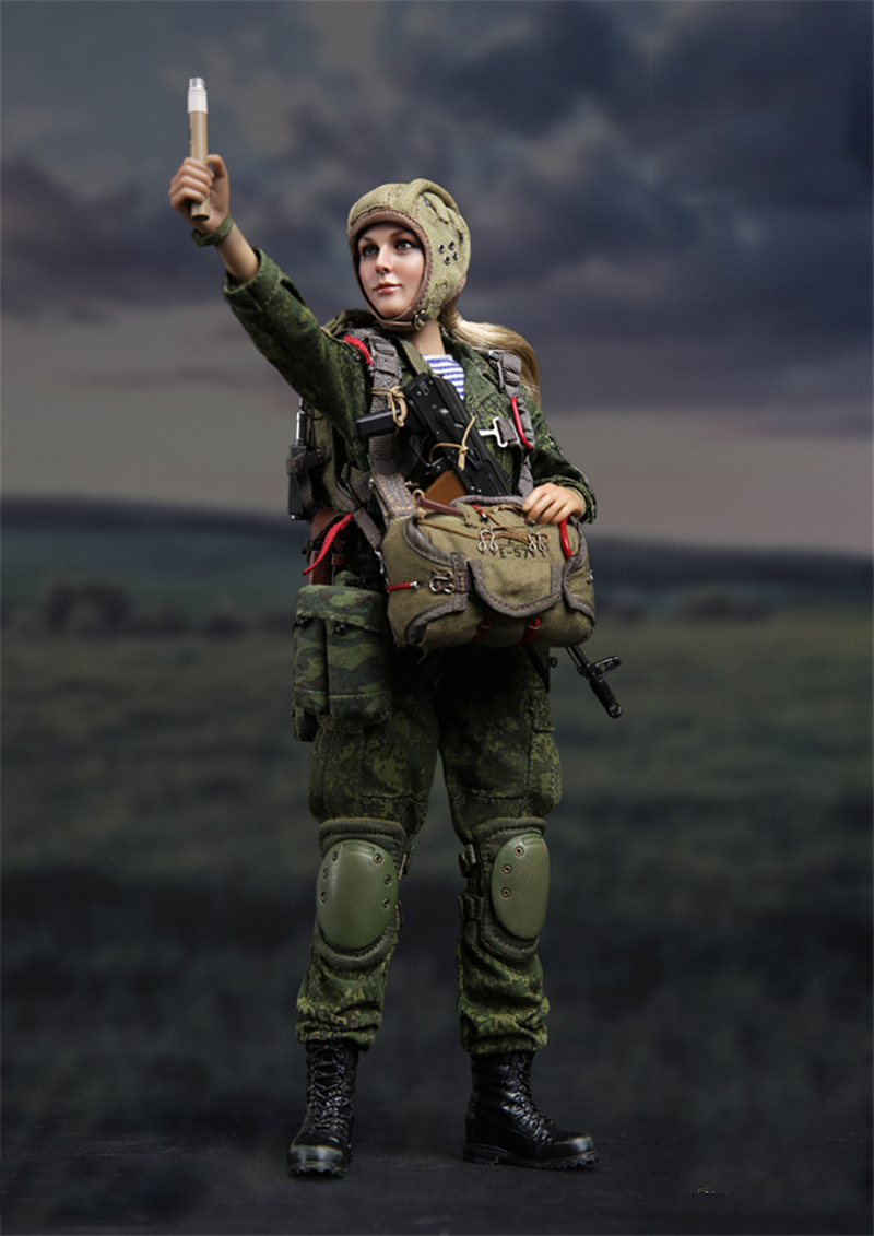 1/6 Russian Airborne Troops VDV Natalia Full Set Figures airborne pollen allergy