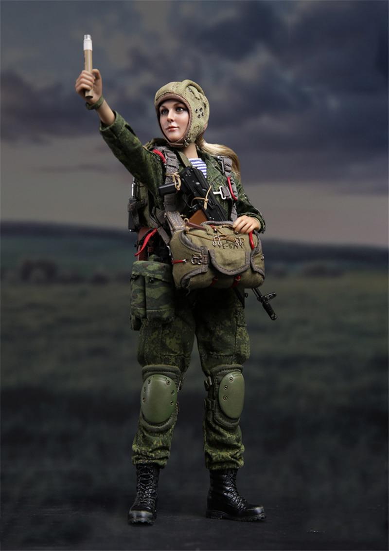 1/6 Russian Airborne Troops VDV Natalia Full Set Figures