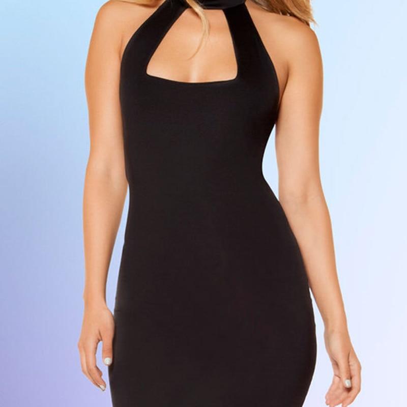 Women Sexy Lingerie One Size Female Bandage Dress Clubwear Sexy Halter Backless Costumes Underwear