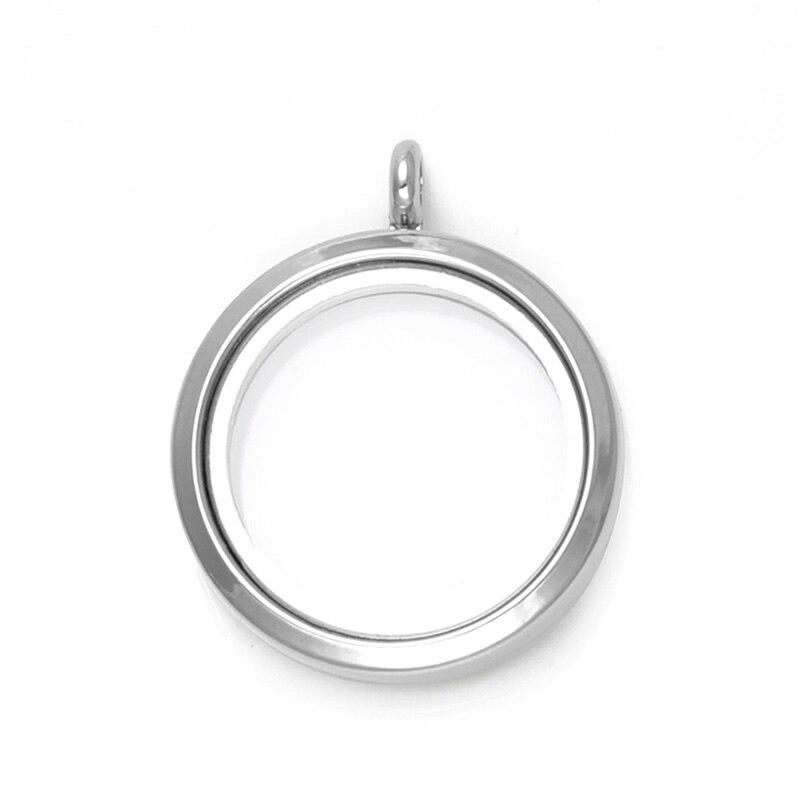 Купить 1 шт родиевое ожерелье 30 мм с магнитным стеклом