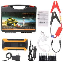 Practical 89800mAh 12V 4USB Car Battery Charger Starting Car Jump Starter Booster Power Bank Tool Kit For Auto Starting Device(China)