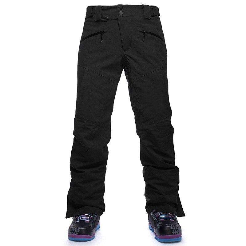 Saignement Marque Hiver Ski Pantalon coupe-vent imperméable pantalons de snowboard hommes neige de ski pantalon chaud Respirant en plein air pantalon de Ski