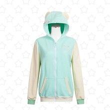 LoveLive Koizumi Hanayo Hoodie font b Cosplay b font Costumes Jacket Love Live u s SIF