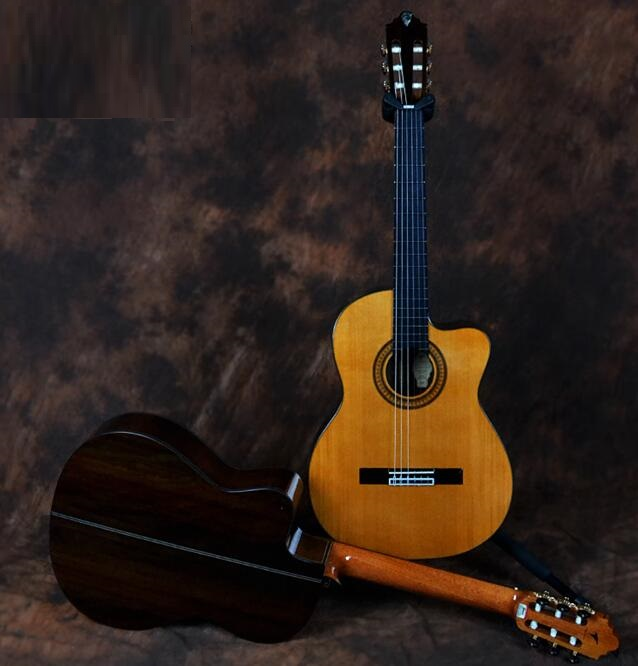 performance cutway classic guitar with hard case performance cutway classic guitar with hard case