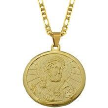 Anniyo – colliers avec pendentifs en or pour hommes et femmes, bijoux arabes